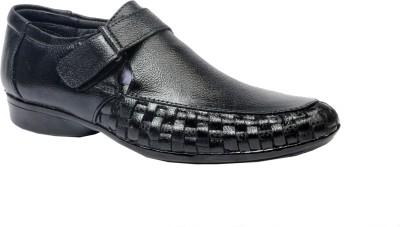 Four Star Men Black Sandals
