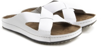 Clarks Netrix Jump White Leather Men White Sandals
