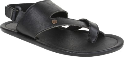 Marco Ferro Men Black Sandals