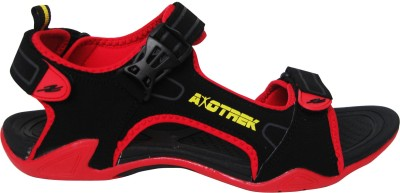 Axotrek Ultra Light Weight Men Black, Red Sandals