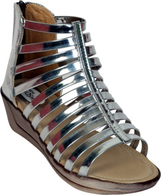 Remson India Women SILVER Wedges