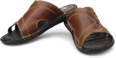 Lee Cooper Men Brown, Black Sandals