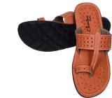 Lamha Crafts Men Camel Sandals