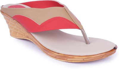 Starchi Women Red Wedges