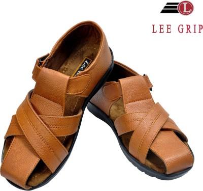Lee Grip Men Tan Sandals