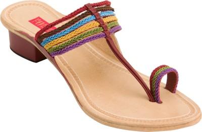 Footrendz Women Multicolor Heels
