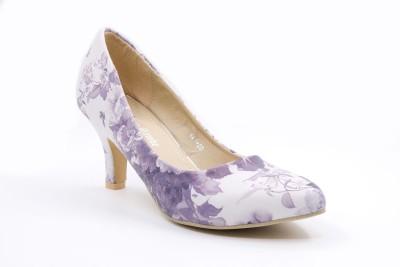 Belle Gambe Women Purple Heels