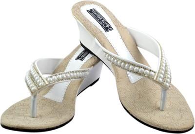 Leatherwood1 Women White Heels