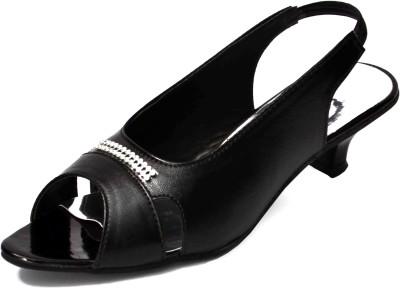 Aadolf Women Black Heels
