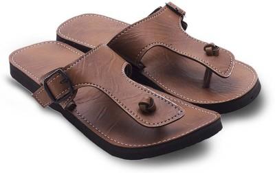 Tradition India Men Tan Sandals