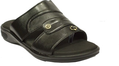 Shan Health Life Men Black Sandals