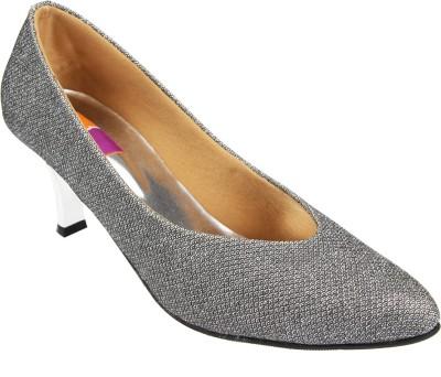 Tycoon Women Grey Heels