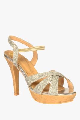 SOLE TO SOUL Women Silver Heels