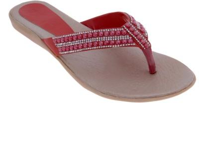 Dutch Benson Women Red Sandals