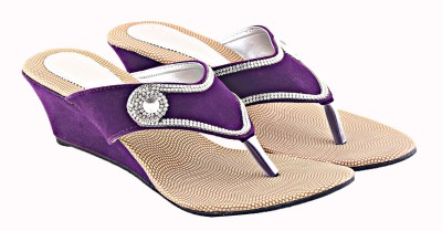 Relexop Women Purple Wedges