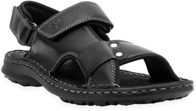 Ventoland Men Black Sandals