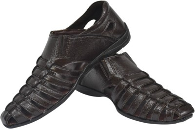 Strive Men Brown Sandals