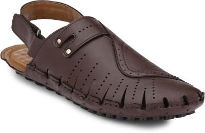 Peponi Men Brown Sandals at flipkart