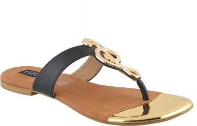 Footsy Women Black Flats