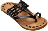 Port Men Black Sandals