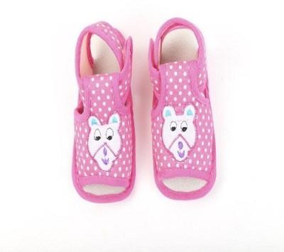 CHHOTE JANAB Baby Girls, Baby Boys Pink Flats