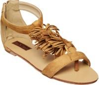 Flat n Heels Women Tan Flats