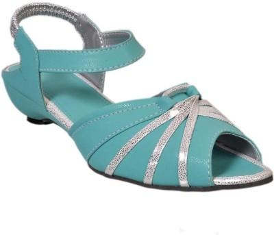 Fescon Women Green Sandals