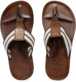 WROGN Men White::Brown Sandals