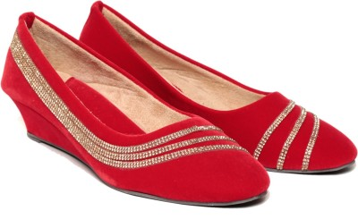 Lovely Chick Women Red Wedges