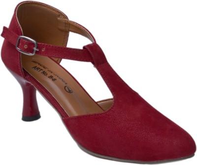 Belle Femme Women Red Heels