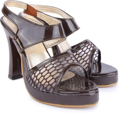 Urban Woods Women Brown Heels