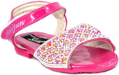 Sant Footwear Baby Girls Pink Sandals