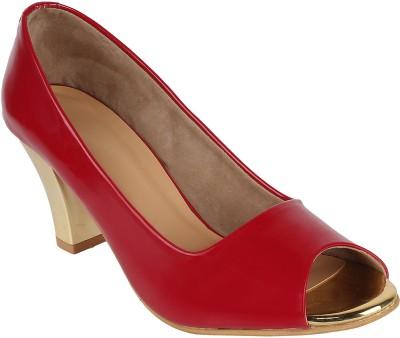 Glitzy Galz Women Red Heels