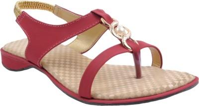 BEE FASHIONABLE Girls Red Heels