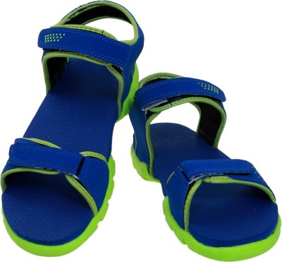 Ziesha Men Blue, Green Sandals