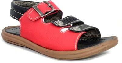 Sant Footwear Baby Boys Red Sandals
