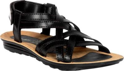 Fuoko Men, Boys Black Sandals