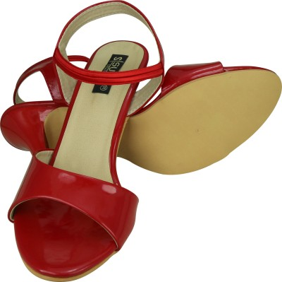 SUMI Collections Women Red Heels