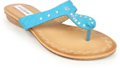 Stylistry Women Blue Flats