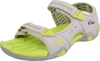 Campus Men Grey, Green Sandals