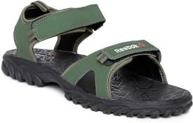 Reebok Men PRIMAL GREEN/BLACK Sports Sandals