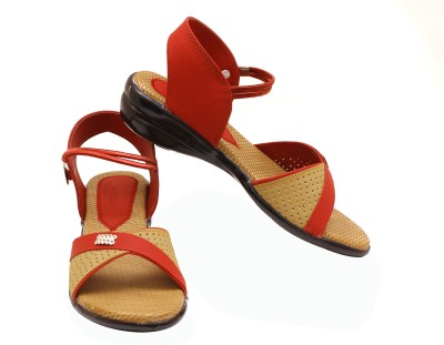 Canvera Women Red Heels