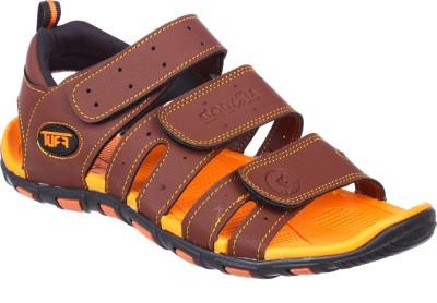 Odyssia Men Orange Sandals