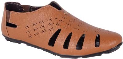 Vajazzle Men Tan Sandals