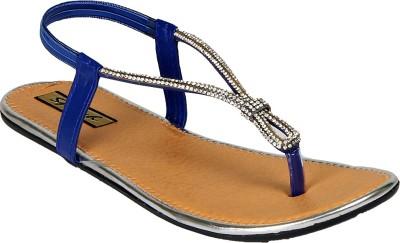 Sporch Women Blue Flats