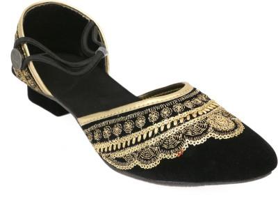 Heavenfoot Women Black Heels