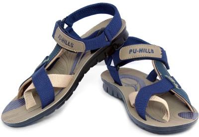 Pu Hills Men Blue Sandals