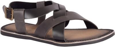 Tortoise Men Black Sandals