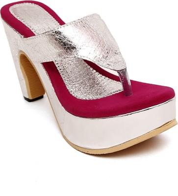 Royal Footwear Women Pink Heels