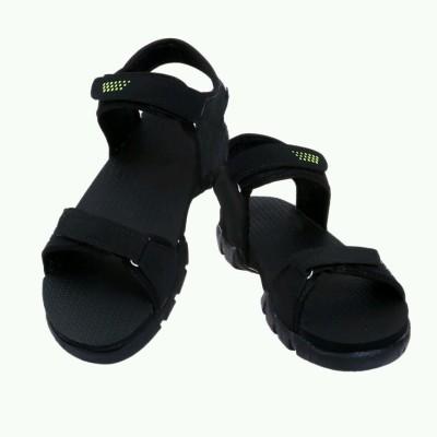 Ziesha Men Black, Green Sandals
